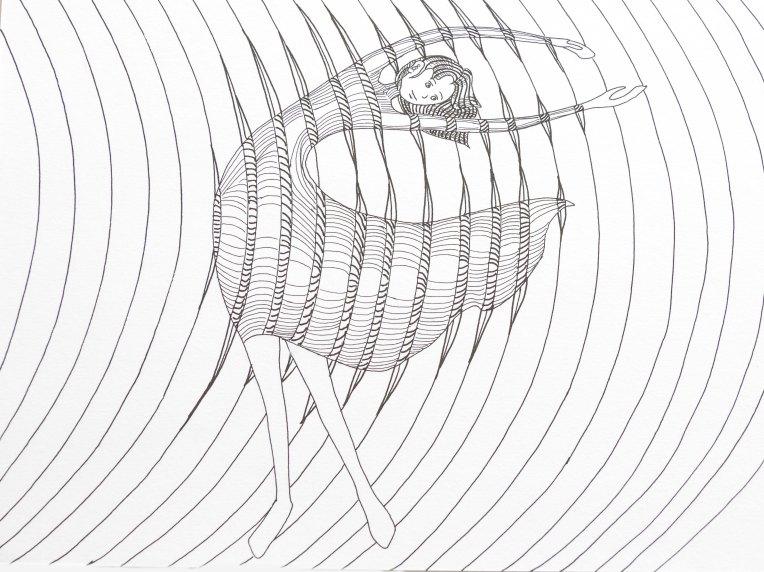 Déformation du corps sous l'effet du vent - ondes