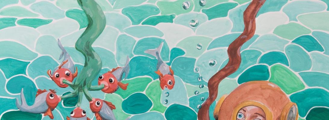 comment représenter l'eau en dessin peinture
